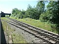 SK5416 : Railway track north of Quorn & Woodhouse station by Christine Johnstone