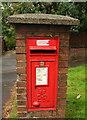 SX8760 : Postbox, Waterleat Road, Paignton by Derek Harper