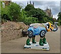 SO8454 : Elephant in Worcester's Big Parade by Mat Fascione