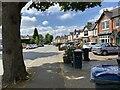 SP1193 : South on Green Lanes, Wylde Green, north Birmingham by Robin Stott