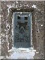 NT5584 : Flush Bracket benchmark, North Berwick Law by Adrian Taylor