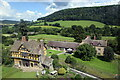 SO4381 : Stokesay Castle gatehouse and visitor centre... by Bill Harrison