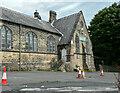 SE0726 : The former Christ Church School, Pellon, Halifax by Humphrey Bolton