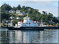 NM8529 : 'MV Coruisk' leaving Oban by M J Richardson