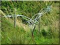 NY0565 : Goose Sculpture, Caerlaverock WWT Centre by David Dixon