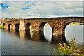 NX9676 : Devorgilla Bridge, Dumfries by David Dixon