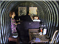NX9978 : Inside the Anderson Shelter, Dumfries Aviation Museum by David Dixon
