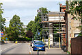 SK3516 : Station Road, Ashby-de-la-Zouch by Oliver Mills