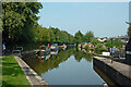SJ8746 : Trent and Mersey Canal at Etruria Junction by Roger  Kidd