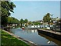 SJ8746 : Hard to starboard! Etruria Junction, Stoke-on-Trent by Roger  Kidd