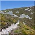 NN9371 : Path on Beinn a' Ghlo by Richard Webb