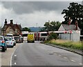 SO4579 : Level crossing on the A49 at Onibury by Mat Fascione