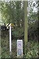 SK9018 : Gas pipe marker by Bob Harvey