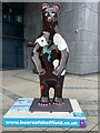SK3587 : Bears of Sheffield: #12 Peace Bear with Chilli Pepper by Graham Hogg