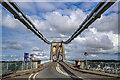 SH5571 : Menai Suspension Bridge by Mike Searle