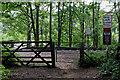 SO7778 : Railway foot crossing near Trimpley Reservoir, Worcestershire by Roger  Kidd