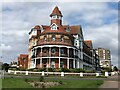 TM2319 : Apartments in a former hotel on the Esplanade, Frinton on Sea by Richard Humphrey