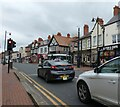 SH9477 : The centre of Abergele by Gerald England
