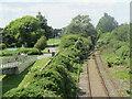 SZ0090 : Disused railway tracks, Hamworthy, near Poole by Malc McDonald