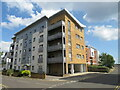 SZ0090 : Apartment block on Norton Way, Hamworthy, near Poole by Malc McDonald