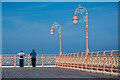 SH8579 : Colwyn Bay Pier by Oliver Mills