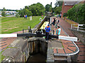 SO8557 : Worcester and Birmingham Canal - Bilford Top Lock by Chris Allen