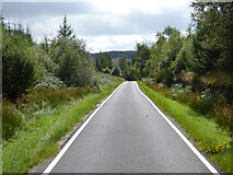 NR9382 : The B8000 road near Otter Ferry by Thomas Nugent