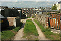 SX9264 : Back lane, Ellacombe by Derek Harper