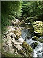 NY3139 : Waterfall on Whelpo Beck by Oliver Dixon