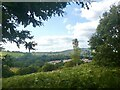 ST2886 : View towards the north-west, Gaer Fort, Newport. by Robin Drayton