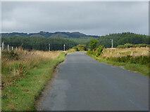 NR9671 : The B8000 road near Millhouse by Thomas Nugent