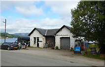 NR9772 : Tighnabruaich Service Station by Thomas Nugent