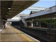 TQ2182 : Willesden Junction: view from Platform 2 of the low-level station by Stefan Czapski
