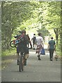 NY2824 : Piggy-back cycling by Oliver Dixon