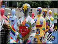 SJ8397 : Gratitude, St Peter's Square by David Dixon