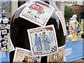 SJ8397 : Gratitude, Nurses in Bin Bag PPE by David Dixon