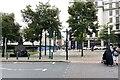 SP0787 : Crossing Old Square, Birmingham by Robin Stott
