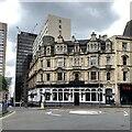 SP0787 : The Crown public house, Corporation Street, Birmingham by Robin Stott