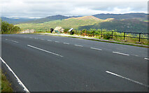 NR9977 : The A8003 road out of Tighnabruaich by Thomas Nugent