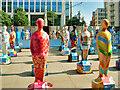 SJ8397 : The Gratitude Installation at St Peter's Square by David Dixon