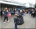 SJ9494 : A conversation on Hyde Market by Gerald England