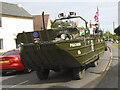 TF1505 : DUKW on Peakirk Road, Glinton by Paul Bryan