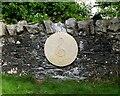 NT2447 : Memorial stone, Eddleston by Jim Barton