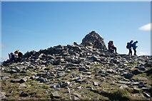 NH9911 : Summit of Meall a' Bhuachaille by Julian Paren