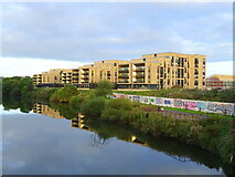 NS6162 : Apartments beside the River Clyde by JThomas
