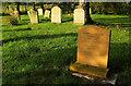 SP1240 : Headstone, Weston-Sub-Edge by Derek Harper