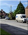 SO7010 : Gloucester Locksmiths white van, High Street, Arlingham by Jaggery
