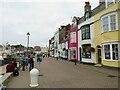 SY6778 : Trinity Road, Weymouth by Malc McDonald