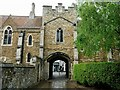 TL5480 : Sacristry gate and goldsmith's tower, Ely by Jeff Buck