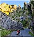 ST4754 : Bikers in the Cheddar Gorge by Mat Fascione